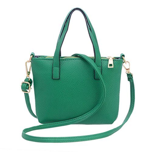 China Handbags Ladies (Clearance! Nevera Women Fashion Handbag Shoulder Bag Solid Tote Ladies Purse, Large Capacity (Green))