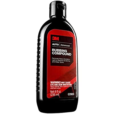 3M Rubbing Compound, 16 Oz: Automotive