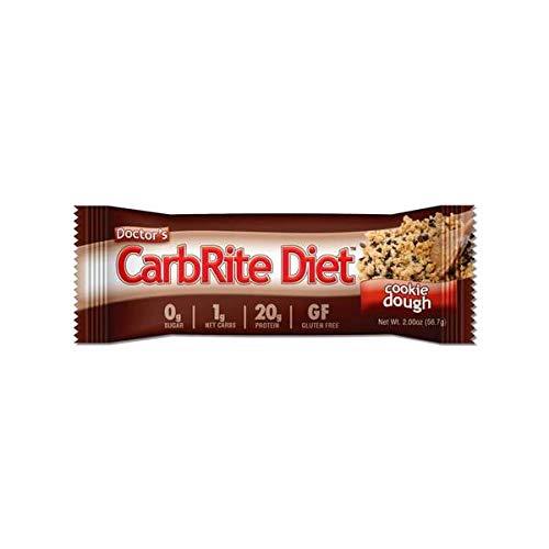 Doctor's CarbRite Diet Sugar-Free Protein Bar - Cookie Dough (1 Bar) Carbrite Bar Cookie Dough