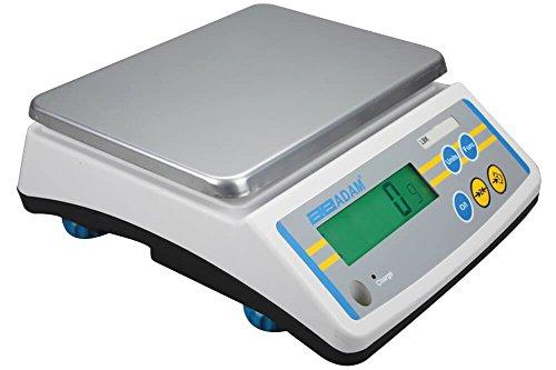Low Profile Bench Scale (Adam Equipment LBK 65a Compact Bench Scale, 65lb/30kg Capacity, 0.01lb/5g Readability)