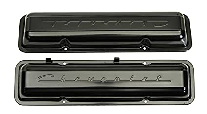 59 67 Chevy Small Block Paintable Script Valve Covers Sold As A Pair