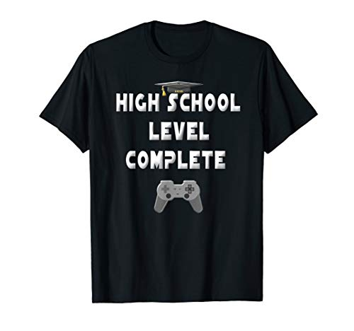 2018 High School Graduation Shirt Gamer Graduation -