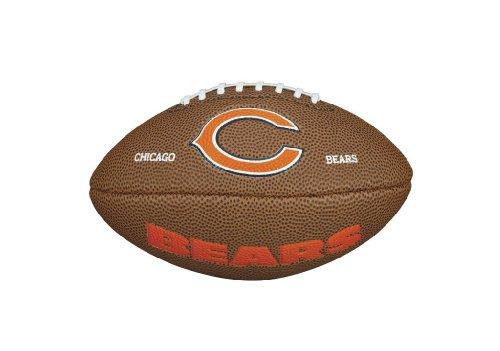 Wilson WTF1533IDCH NFL Team Logo Mini Size Football - Chicago (Chicago Bears Soft Football)