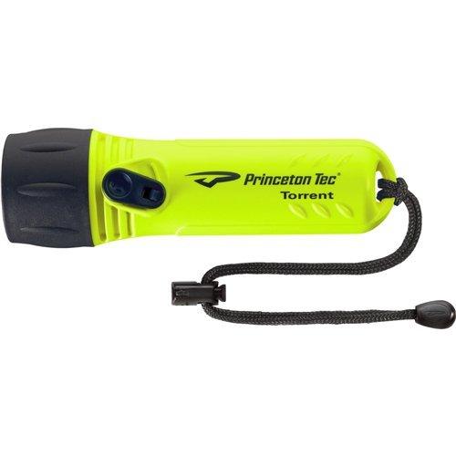 Princeton Yellow Flashlight - Princeton Tec Torrent LED Dive Light (330 Lumens, Neon Yellow)