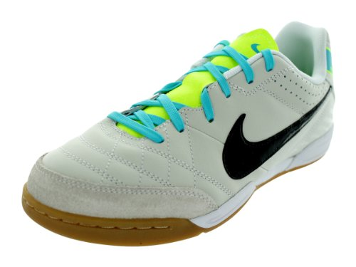 Nike JR Tiempo Natural IV LTR IC Fussballschuhe light bone-black-white - 35
