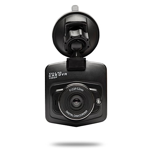 Dash Cam,Car Dashboard Camera Recorder with Full HD 1080P 170°Super Wide Angle Lens, WDR, Night Vision,Loop Recording, G Sensor,and Parking ()