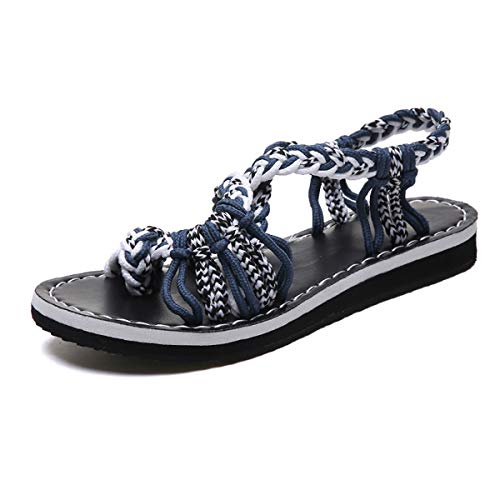 DaMaiZhang Colorful Sandals for Women Outdoor Walking Beach Casual Open Toe Shoes (US8,White) from DaMaiZhang