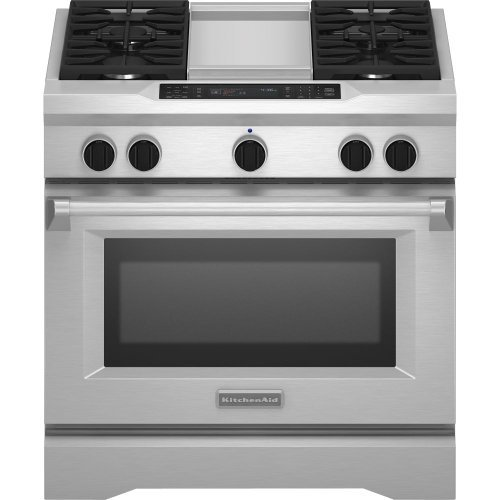 Kitchenaid KDRS463VSS Commercial-Style Dual Fuel Range