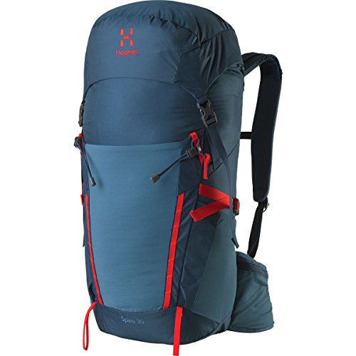 Haglofs Spira 35L Backpack Blue Ink/Pop Red, One Size from Haglofs