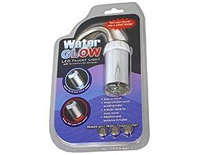 Embout de robinet à LED lumineuse BLEU, ROUGE