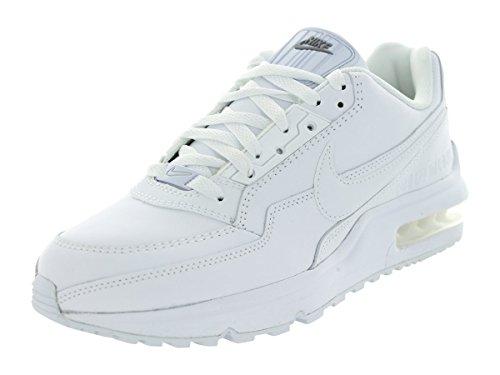 Nike Mænds Air Max Ltd 3 Løbesko Hvid / Hvid / Metallisk Sølv c1XE1DC