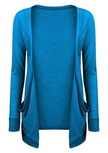Gilet Turquoise SA SA Femme Fashions Fashions Ox1PwqtZp