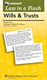 img - for Wills and Trusts (Law in a Flash Cards Ser) book / textbook / text book