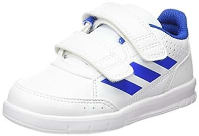 adidas Boys' AltaSport Shoes, Footwear White/Blue/Footwear White, 2.5 US (2.5 AU)