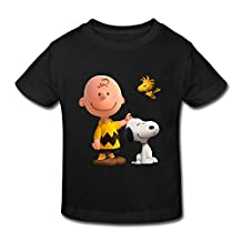 Kids Toddler Peanuts Movie 2015 Snoopy Little Boys Girls T Shirt