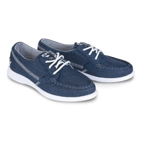 Brunswick Karma Denim Women's Bowling Shoes, Denim, 10