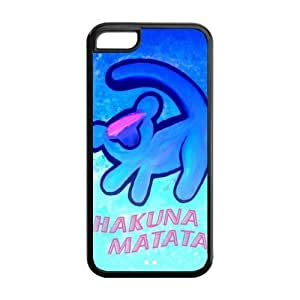 Customize Series The Lion King Hakuna Matata Back Case for iphone 5C 06 hongguo's case