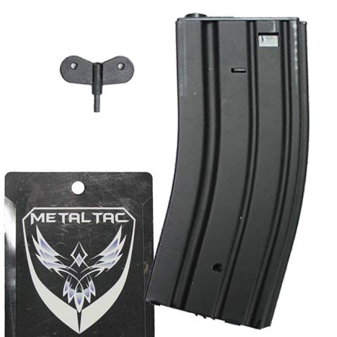 MetalTac M-Series 300 Round Hi-Cap AEG Airsoft Magazine for sale  Delivered anywhere in USA