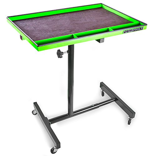 OEMTOOLS 24934 Portable Tear Down Tray, 29'', Green/Black by OEMTOOLS