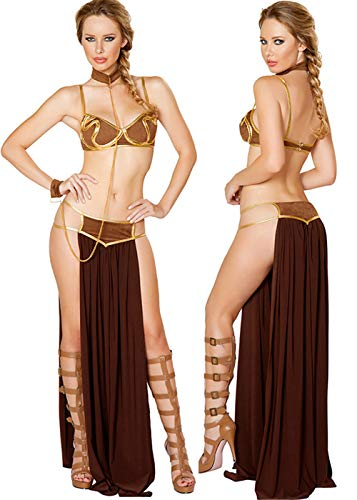 Women's Athenian Goddess Costume,New Egyptian Halloween Cosplay Costume Sexy Goddess Arab Long Dress Prom Set -