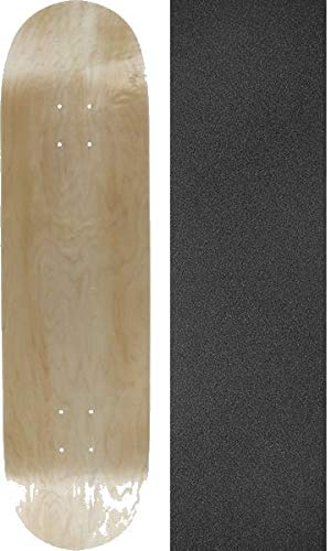 Amazon com : Blank Skateboards Natural Skateboard Deck