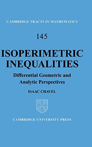 Isoperimetric Inequalities: Differential Geometric and Analytic Perspectives (Cambridge Tracts in Mathematics)