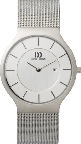 Danish Design IQ62Q732 Stainless Steel Silver Dial Ultra Slim Men's Watch