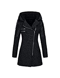 Womens Winter Jacket Thick Parka Overcoat Coat Trench Parka Belt Outwear Coat