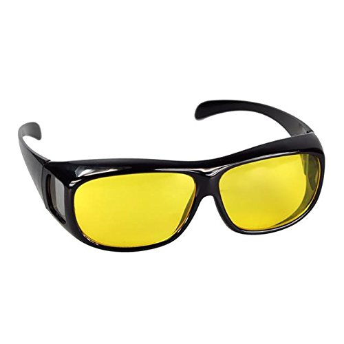 ASVP Shop® Night Vision Driving Glasses No Glare Drivers Fishing Road S9005-Polarized Yellow