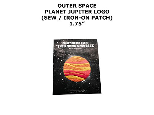 Diy Retro Alien Costume (Planet Jupiter Outer Space DIY Embroidered Sew or Iron-on Applique Patch Outlander Gear)
