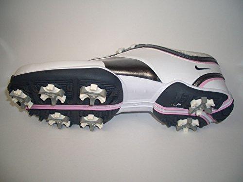 Nike Air Dormie Scarpe da donna. Bianco/Argento/Rosa. OTTIMA ammortizzazione e Trazione. Full Grain in pelle. 2anni di garanzia limitata acqua bestaend velocità. EUR 38US 7UK 4,524cm