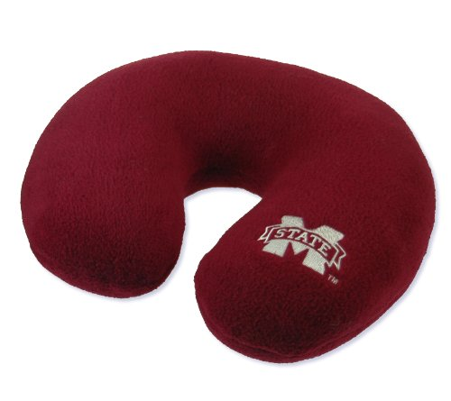 World's Best NCAA Feather-Soft Microfiber Neck Pillow, Mississippi State Bulldogs Mississippi State Bulldogs Pillow