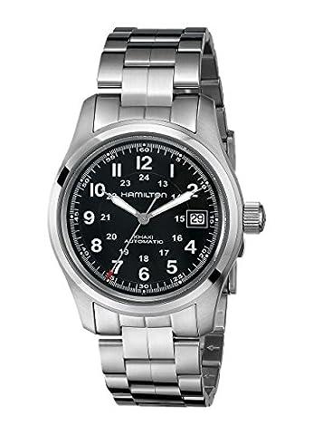 Hamilton Men's HML-H70455133 Khaki Field Analog Display Swiss Automatic Silver Watch (Hamilton Khaki Field Automatic)