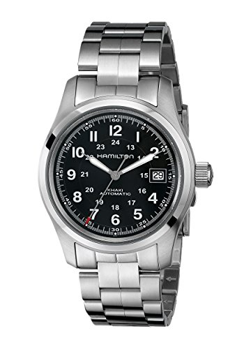 Hamilton Men's HML-H70455133 Khaki Field Analog Display Swiss Automatic Silver Watch