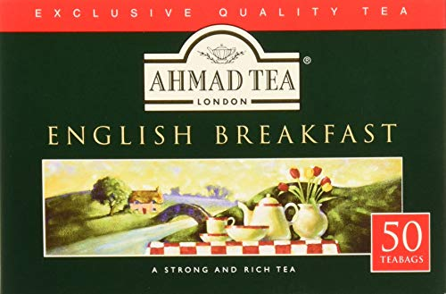 Ahmad Tea English Breakfast Tea, 50Count