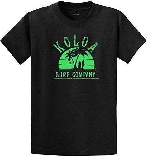 Sunset Green T-shirt (Koloa Surf(tm) Sunset Logo Heavy Cotton T)