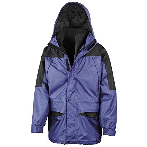 Result Alaska 3-in-1 Windproof Waterproof Mens Outdoor Jacket - Royal/Black - L