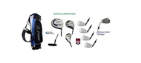 b03e2dd49756 Amazon.com : AGXGOLF Right Hand Men's Executive Golf Club Set wStand ...