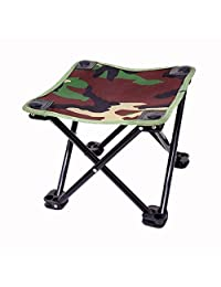 Shoppy Star Jeebel Outdoor Furniture Aluminum Alloy Folding Chair Fishing Picnic Garden Chair Oxford Cloth Seat Outdoor Waterproof Stool: Camouflage