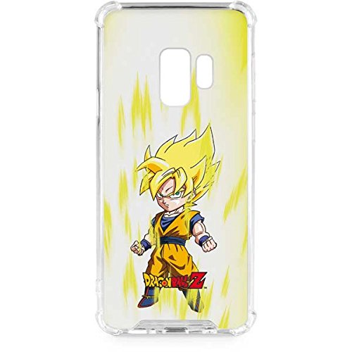huge discount 8c0c2 97cd4 Amazon.com: Skinit Super Saiyan Galaxy S9 Clear Case - Dragon Ball Z ...