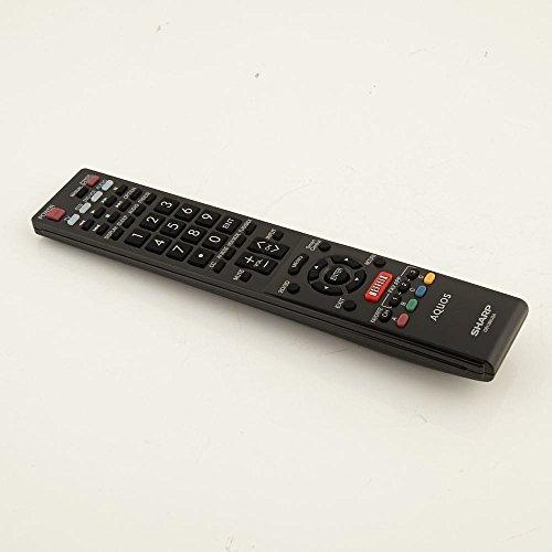 Sharp RRMCGB118WJSA Television Remote Control Genuine Original Equipment Manufacturer (OEM) Part