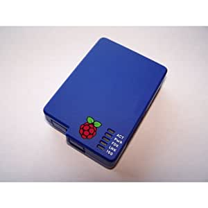 PCSL Brand - Caja para Raspberry Pi (con adaptador para monitor VESA 100), color azul
