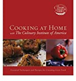 img - for Cooking at Home with The Culinary Institute of America book / textbook / text book