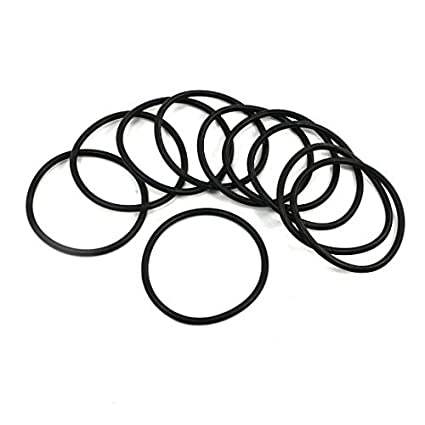 eDealMax de sellado del filtro de aceite de poli uretano O Anillos arandelas (10 piezas