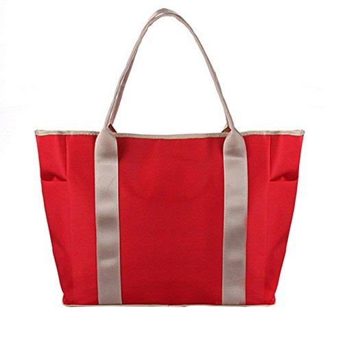 Sealive Multi-functional Mummy Bags Baby Diaper Bag Can be Diagonal Large-capacity Multi-pocket Pregnant Women Package Handbag Shoulder Straps Shoulder Bag Fashion Mummy Bag by Sealive