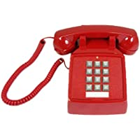 Cortelco 250047-Vba-20m Desk Phone With Volume Red