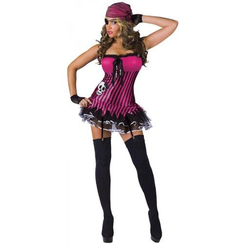 Rockin' Skull Pirate Adult Costume - ()