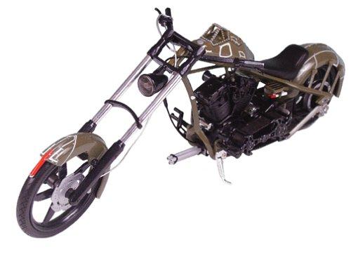 Racing Champions American Chopper: Comanche Bike - 1:10 Scale Die-Cast (American Chopper Jet Bike)