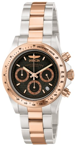 Invicta Men's 6932 Speedway Professional Collection 18k Rose Gold-Plated and Stainless Steel (Invicta Mens Rose)