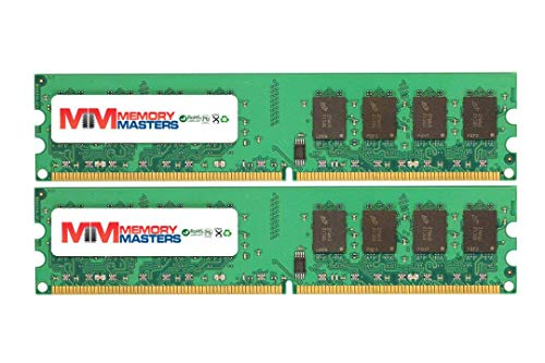 8GB (2x4GB) DDR2-800MHz PC2-6400 Non-ECC UDIMM 2Rx8 1.8V Unbuffered Memory for Desktop PC